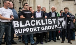 blacklisted construction workers