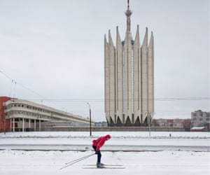 The Russian State Scientific Centre for Robotics and Technical Cybernetics, designed by S Savin and B Artiushin and built between 1973 and 1986 in the Kalininsky district of St Petersburg