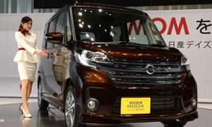 Mitsubishi admitted falsifying fuel-efficiency tests for cars including models made for Nissan, such as the Dayz Roox.