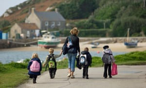 Children in Isles of Scilly