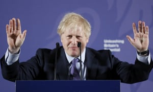 Prime Minister Boris Johnson outlines his government's negotiating stance with the European Union after Brexit.