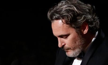 Joaquin Phoenix responds to best actor Oscar with impassioned speech