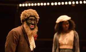 Alistair Toovey and Vivian Oparah in An Octoroon.