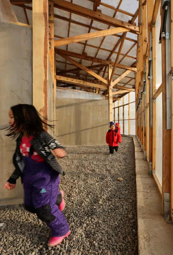 Lively … spaces can be adapted for activities ranging from preschool playtime to innovation workshops.