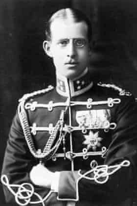 Prince Andrew of Greece, the father of Prince Philip