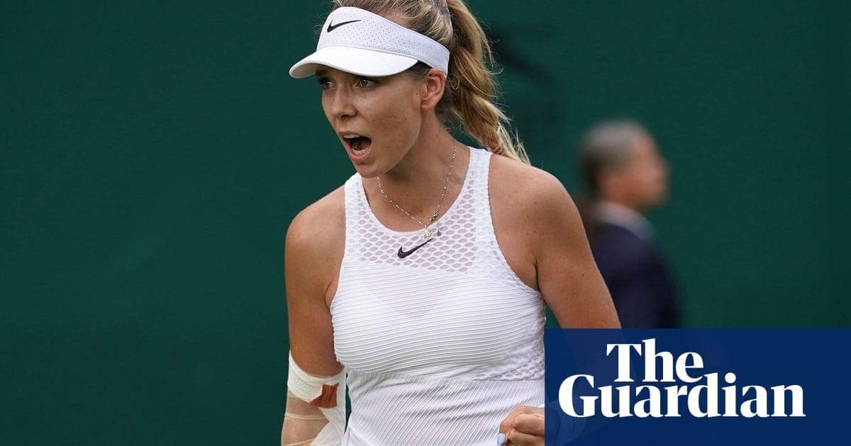 Katie Boulter enjoys winning return to Wimbledon after beating Danielle Lao