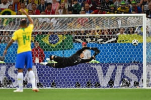 Yann Sommer cannot get anywhere near Philippe Coutinho's wonderful strike in the 20th minute.