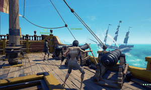 Encountering other crews in Sea of Thieves is always tense, but combat is not the only outcome – fragile alliances can emerge.