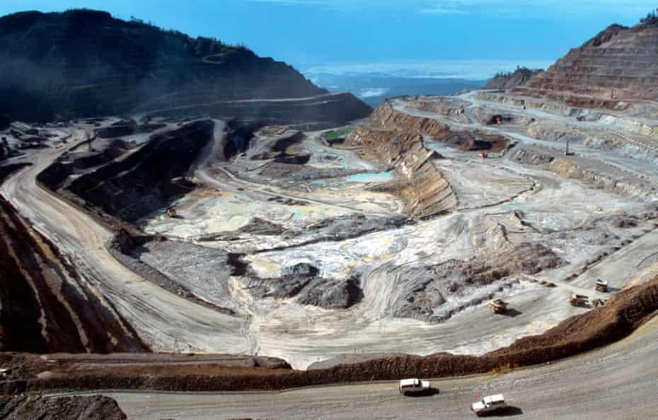 Ok Tedi Copper mine near Tabubil, Papua New Guinea