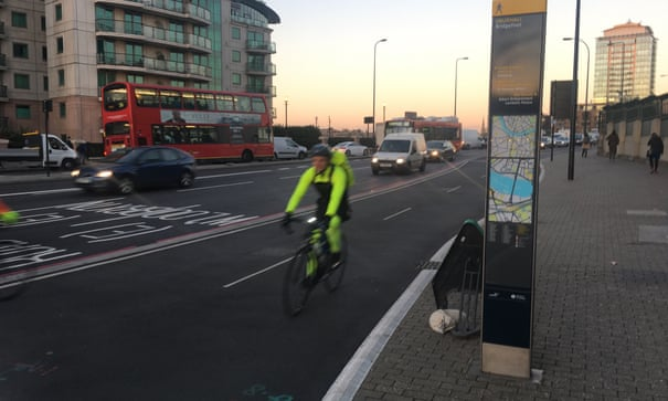 Cycling on Vauxhall Bridge: a return visit and some new