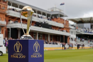The World Cup trophy was on display before the final. England had never before won it