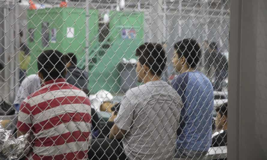 Children in cages in Texas
