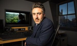 'Buoyant': William Oldroyd, film director, at Aquarium Studios in London where he edited Lady Macbeth.