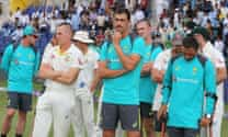 Australia play part in cricket history even as UAE's World Cup dream fades