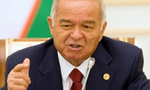 Uzbek president Islam Karimov in 2010. His daughter said earlier this week the 78-year old had suffered a brain haemorrhage.