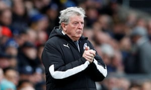 Roy Hodgson has work to do at half-time.