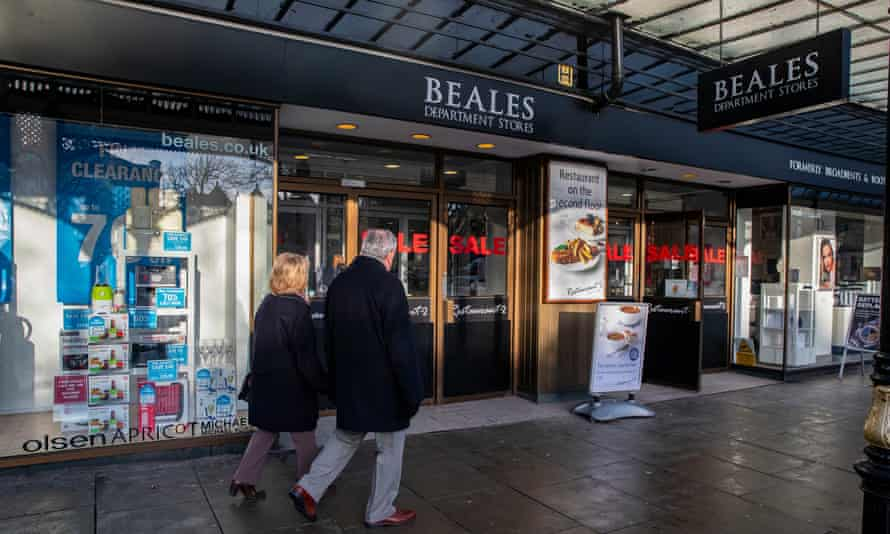 Beale's department store in Southport near Liverpool.