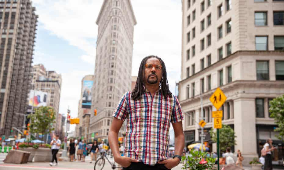 Colson Whitehead in New York City: 'There's the engine of racial injustice in Underground Railroad and Nickel Boys,' he says, 'but in this book [Harlem Shuffle] the big bad is New York real estate.'
