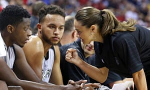 Becky Hammon has been part of the San Antonio coaching stuff since 2014