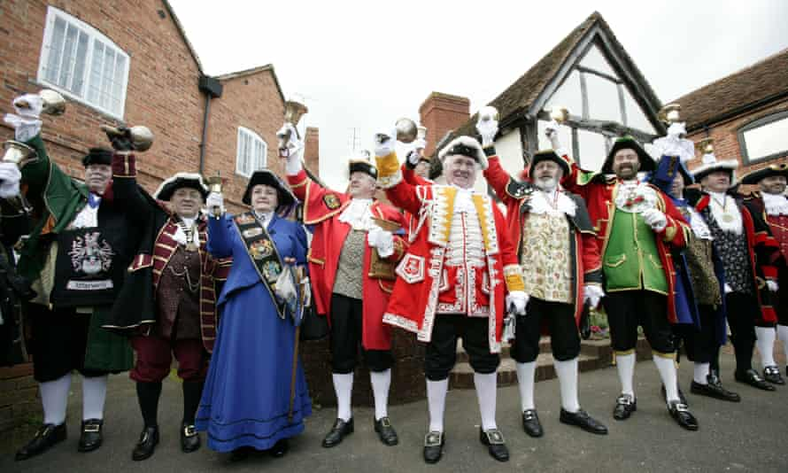 A more traditional contest between town criers in 2005.