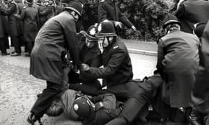 The battle of Orgreave was one of the bloodiest confrontations in an industrial dispute, when 5,000 pickets were confronted by a similar number of police, backed up by horses and dogs.