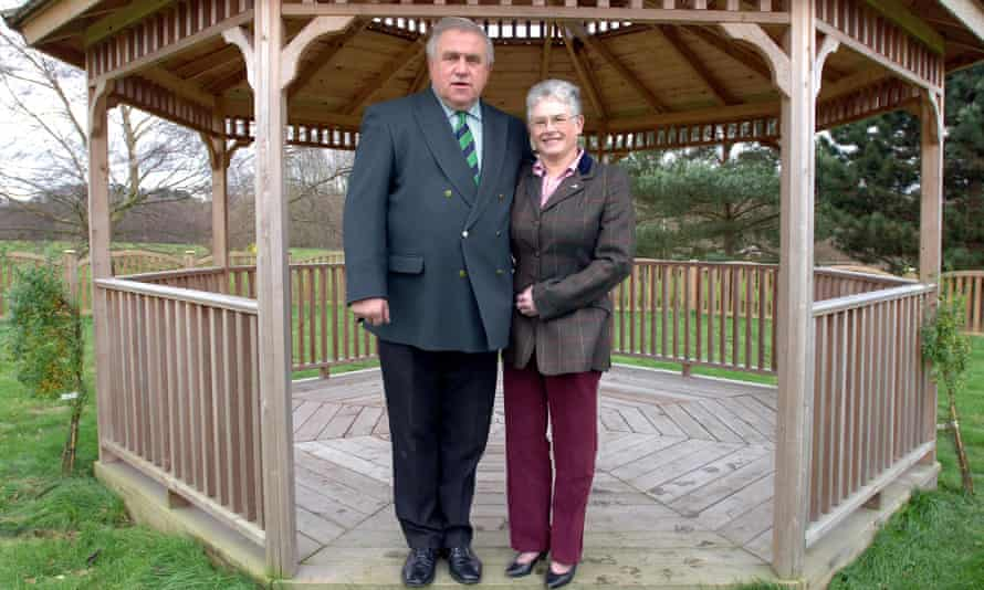 In a buy-to-let league of their own ... Fergus and Judith Wilson.