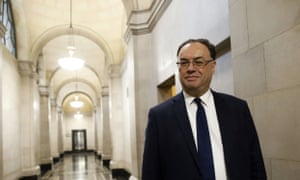 Andrew Bailey, the governor of the Bank of England