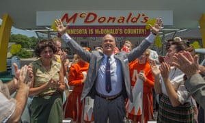 In a pickle ... The Founder stars Michael Keaton as Ray Kroc, the man who bought McDonald's from the brothers who created the company.