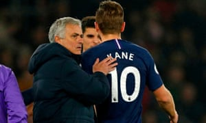 José Mourinho's ability to get the best out of Harry Kane has been questioned.