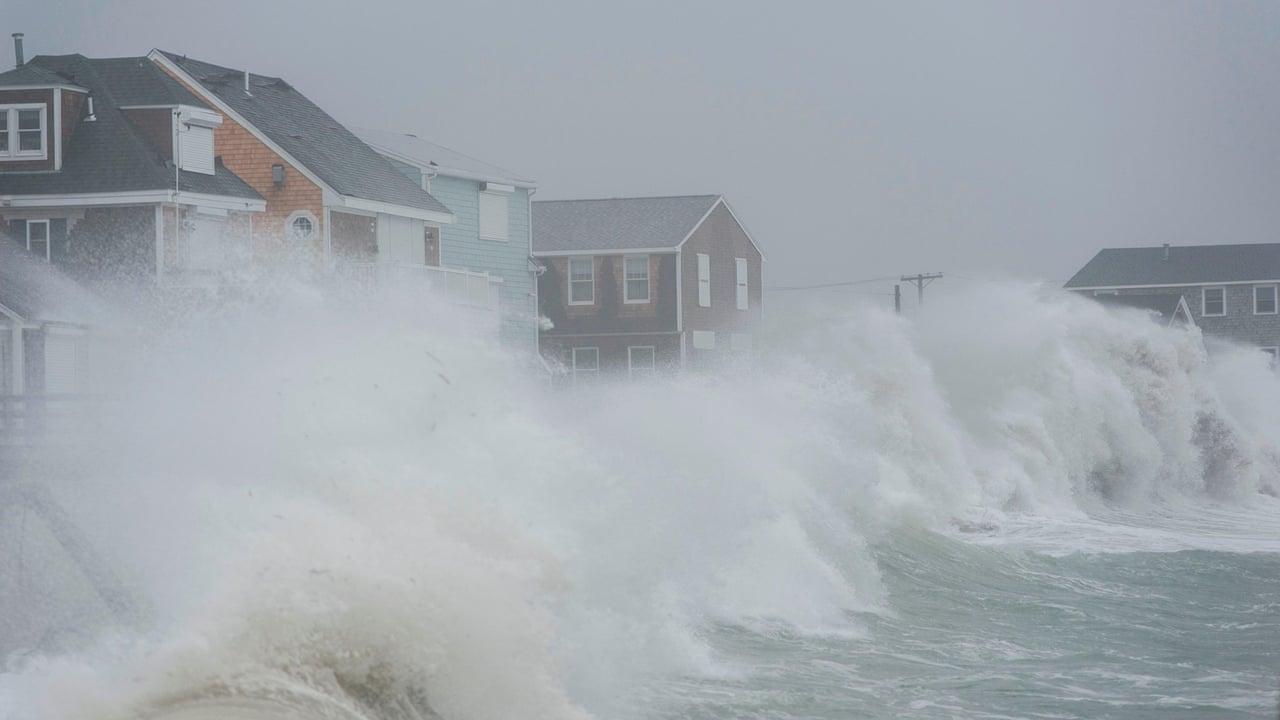 Noreaster powerful storm pounds massachusetts coastline video noreaster powerful storm pounds massachusetts coastline video us news the guardian nvjuhfo Choice Image