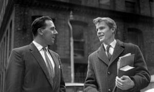 Mosley with Walter Hesketh in 1961.