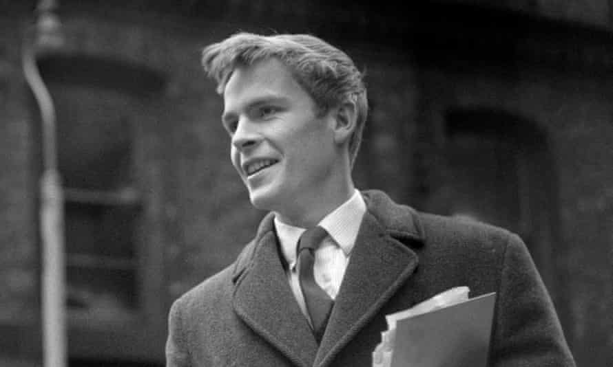 Max Mosley pictured in Manchester in 1961