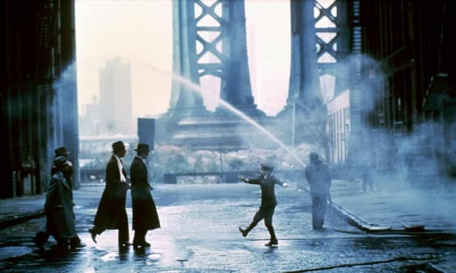 New York is full of film locations, like the Manhattan Bridge in Once Upon a Time in America.