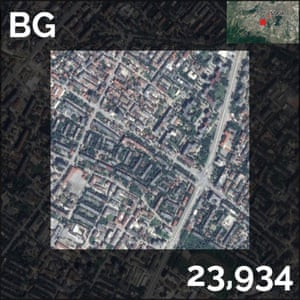 BG - population density maps - sofia