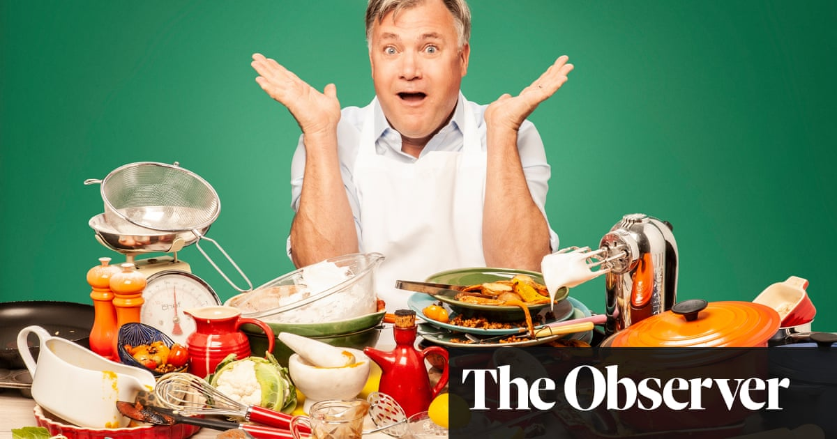 'I could have had a midlife crisis': Ed Balls on cooking and life after politics