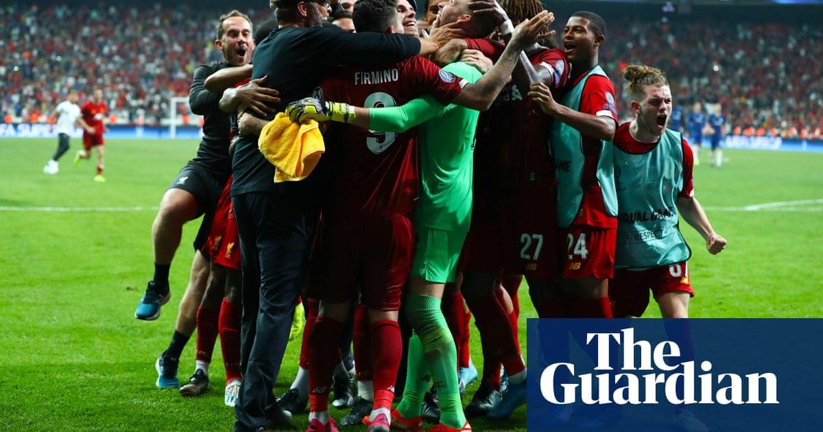 Jürgen Klopp praises Liverpool hero Adrián after Super Cup penalty heroics