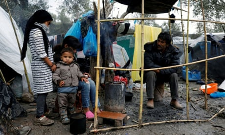Catastrophic conditions greet refugees arriving on Lesbos