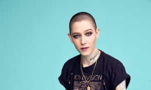 Show some empathy: Asia Kate Dillon.