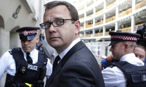 Andy Coulson, outside the Old Bailey in central London, in July 2014