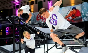 World Chase Tag, a blend of parkour and the playground game, attracts millions of online viewers
