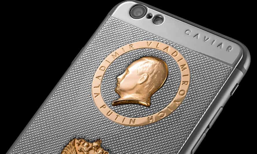 Caviar's Putin-inspired iPhone 6.