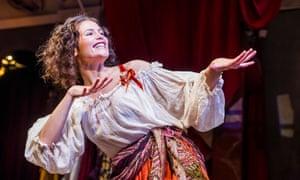 Gemma Arterton as Nell Gwynn.