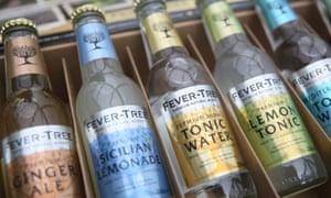 Fever-Tree bottles