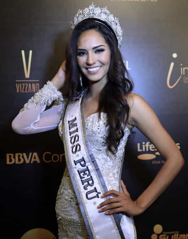 Romina Lozano, winner of Miss Peru 2017