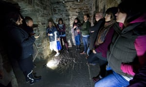 Participants attempt to contact former inmates of Bodmin Jail