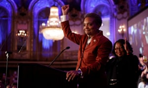 Lori Lightfoot is the first black woman and first openly gay person to be mayor of Chicago.