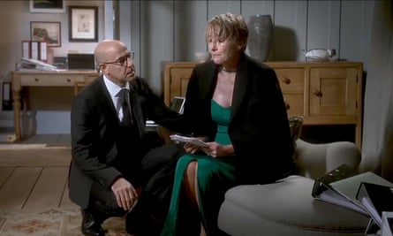 Stanley Tucci stars alongside Emma Thompson in The Children Act