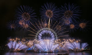 Unicef wishes London a #HappyBlueYear by adding a hint of blue to the iconic New Year's Eve firework display