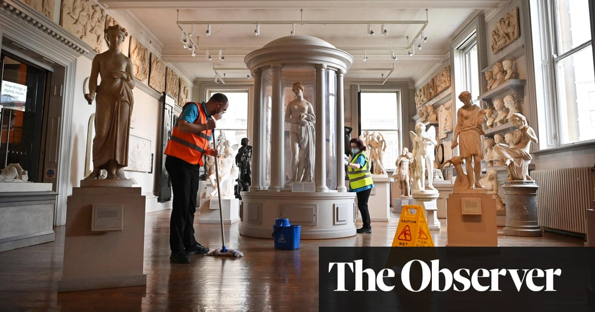 'We're ready for you': English galleries and museums throw open their doors