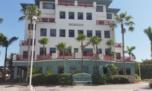 A view of Ugland House, the listed headquarters for more than 18,000 companies in George Town, Cayman Islands.